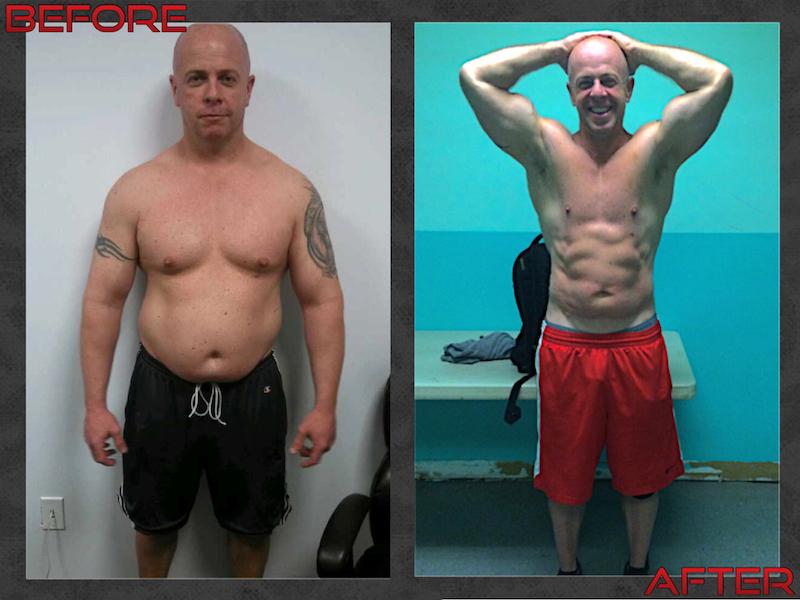 Vendetta Fitness Transformation- P. O'Brian